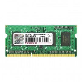 SODIM DDR3 1G PC8500/1066 TRANSCEND Réf : JM1066K
