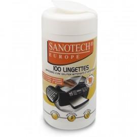 BOITE DE 100  LINGETTES SANOTECH réf: ST0170