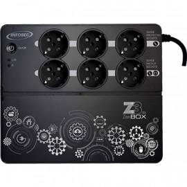 ONDULEUR Z3-ZENBOX EX500VA INFOSEC ref:66074 6 Pri