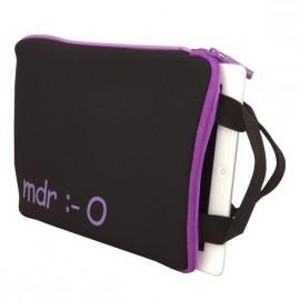 Housse néoprène 10 purple pour tablettes URBAN F