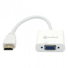 Adaptateur HDMI M vers  VGA F Supporte l'audio via