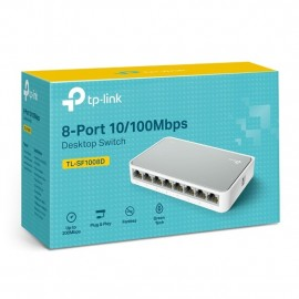 Switch 8 Ports 10/100 RJ45 TP LINK Réf : TL-SF100