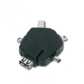 Adaptateur USB vers 5 MINI USB CONNECTLAND Réf :