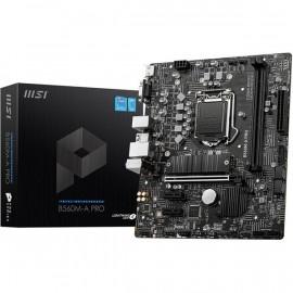 Carte Mère MSI B560M-A-PRO M-ATX / 2 X DDR4 /VGA/HDMI 4 SATA 6Gb/s + 1 x M.2