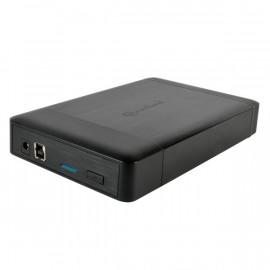 Boitier Externe 3.5 USB3 NOIR CONNECTLAND montage