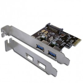 Carte PCI EXPRESS  2 Ports USB3 RENESAS - Connectl
