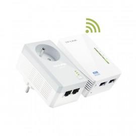 Kit DUO CPL Wi-Fi 600 Mbps+ CPL AVEC PRISE INTEGRE