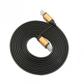 Cable HDMI Male/Male 19 Broches 3m Plat Réf : 010